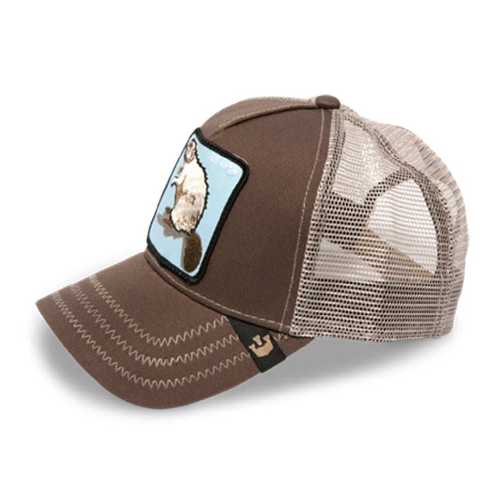 Beaver Animal Series Trucker Hat