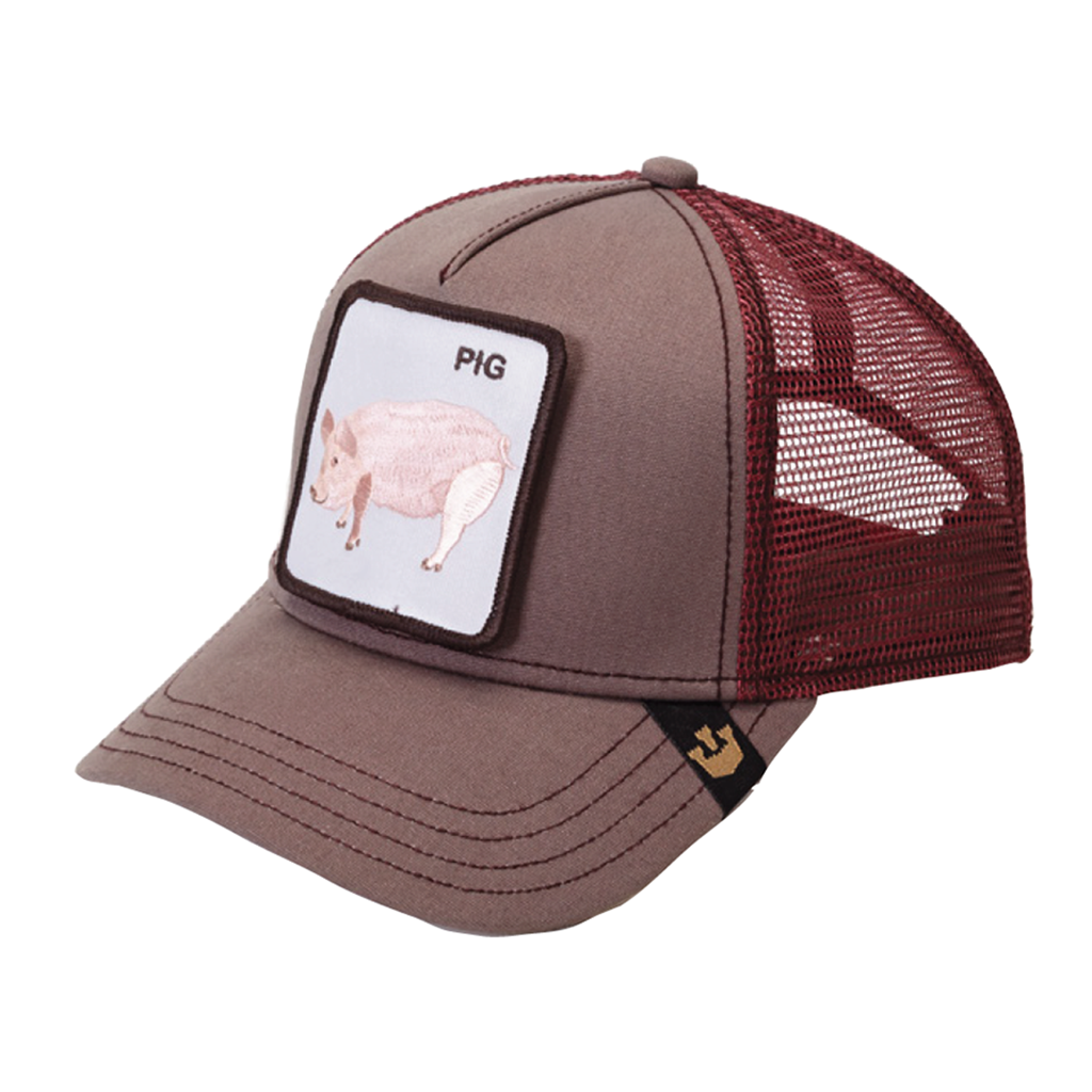 Pig Animal Series Trucker Hat