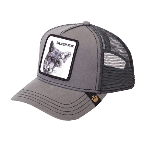 Silver Fox Animal Series Trucker Hat