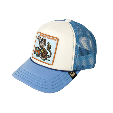 Kids Monkey Business Trucker Cap