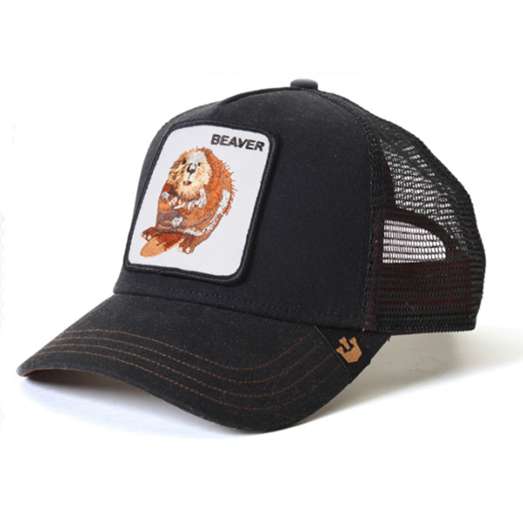 Waxed Animal Series Trucker