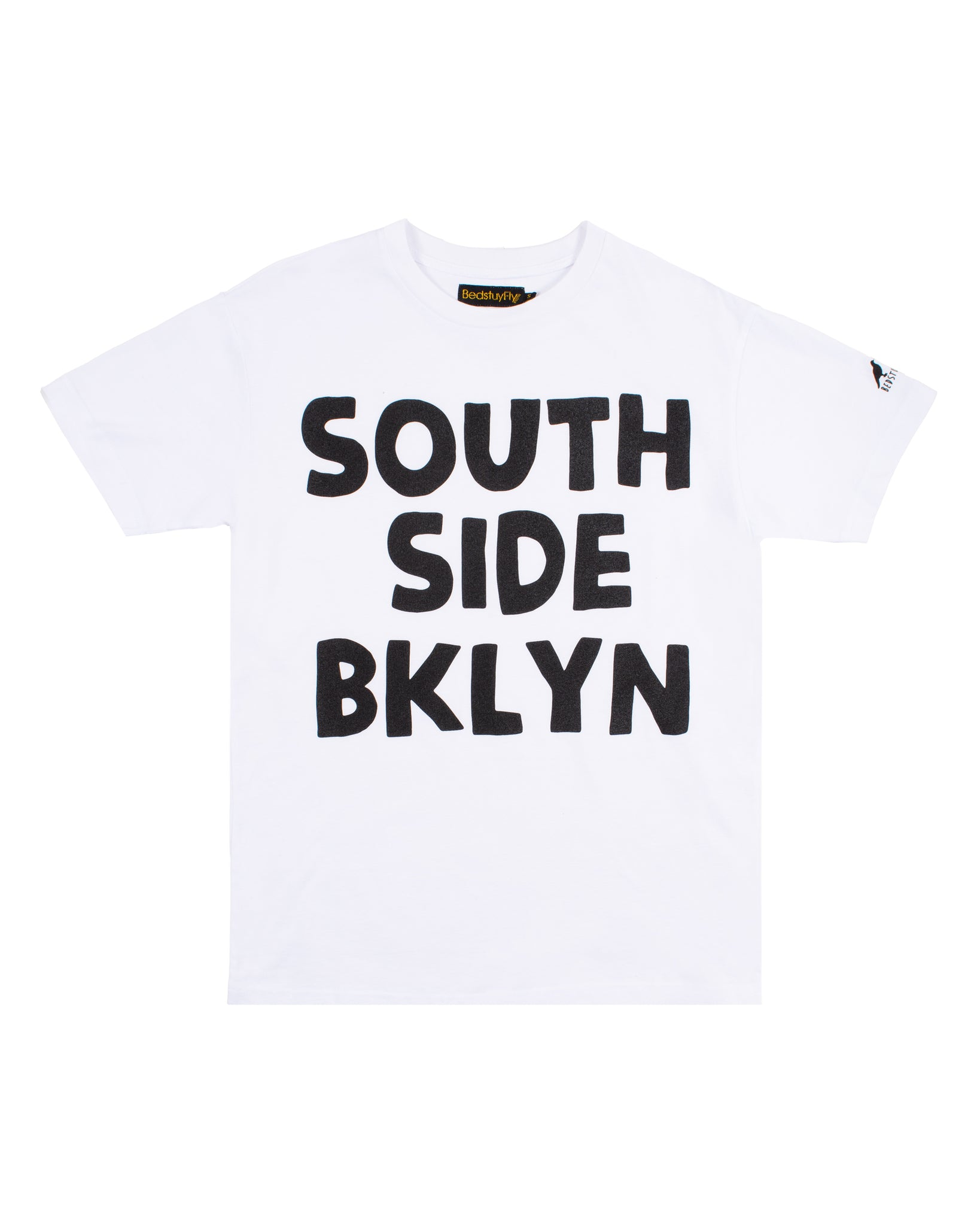 South Side T-Shirt (Wht/Blk)