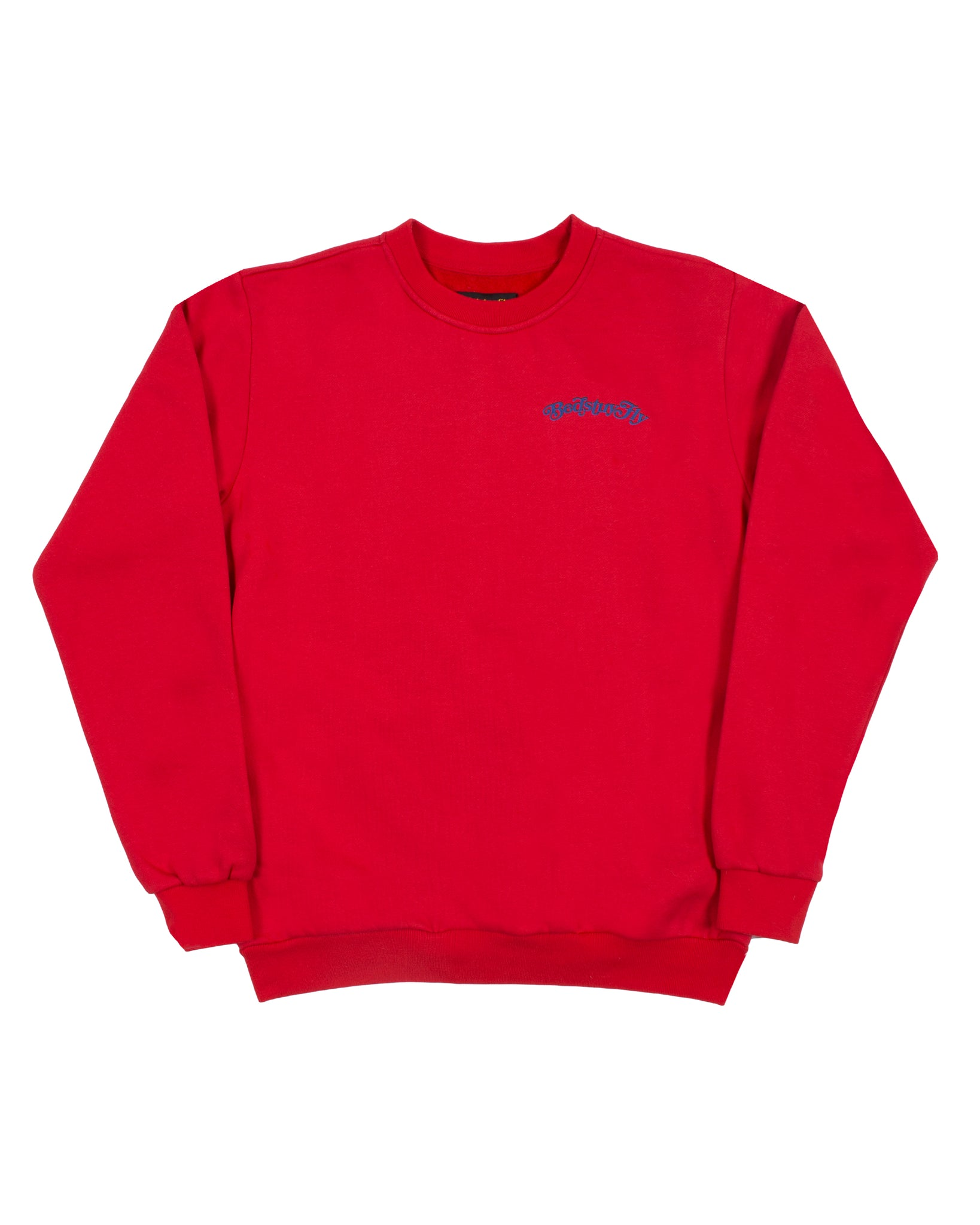 Mind Your Business Sweatshirt (Red/Blue)