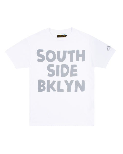 South Side T-Shirt (Wht/Gry)