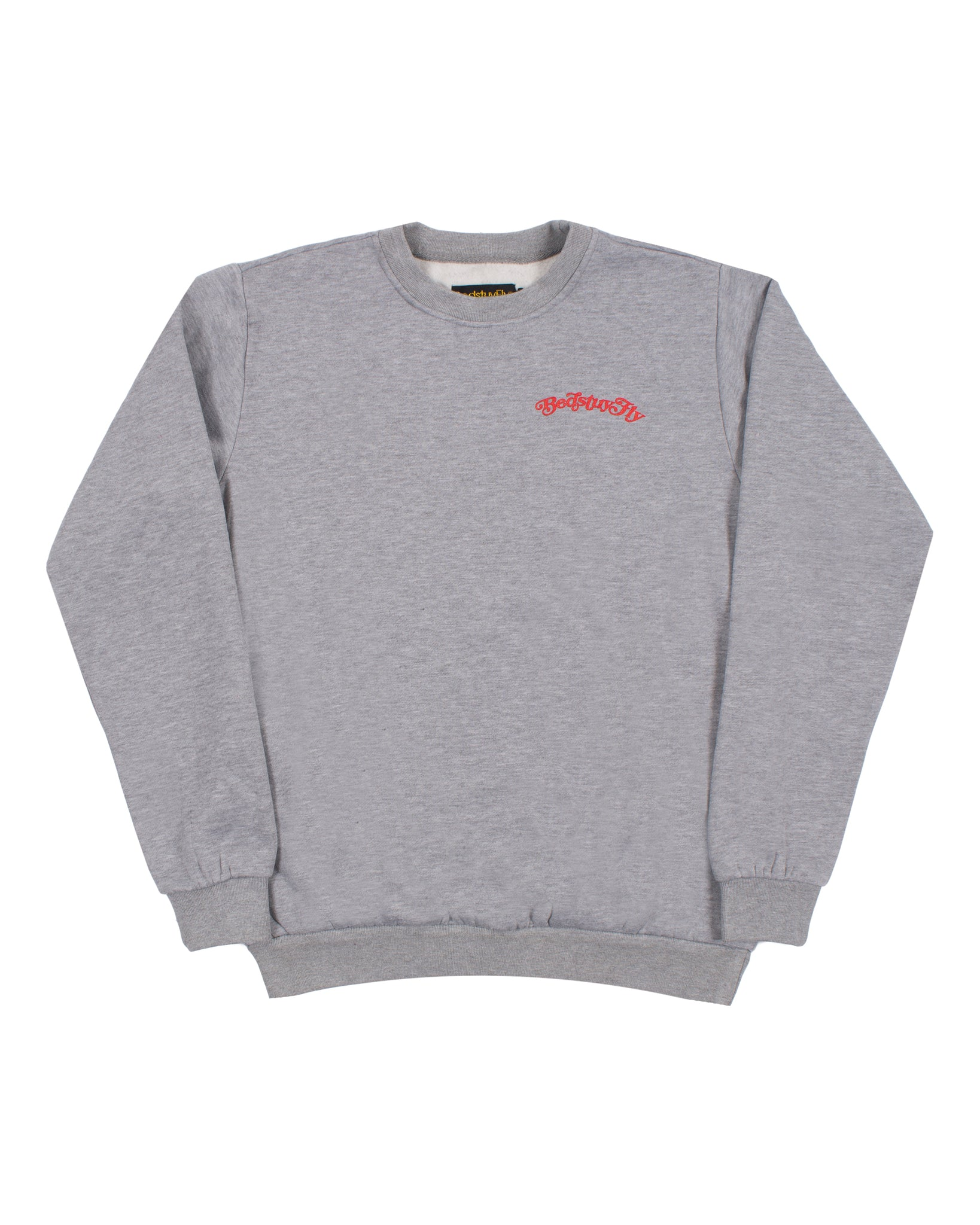 Mind Your Business Sweatshirt (Gry/Red)