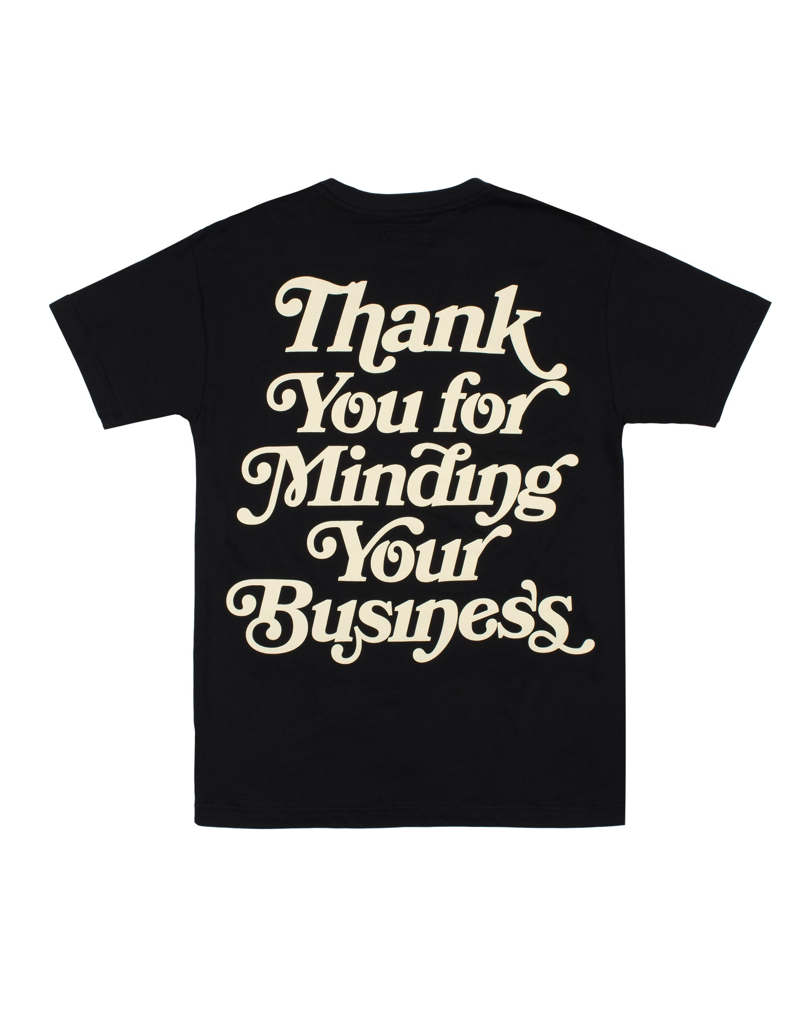 Mind Your Business (Black/crm)