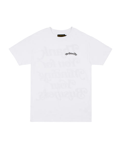 Mind Your Business (White/Blk)