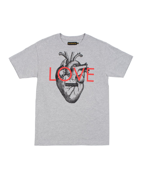 Love With Your Heart T-Shirt (Grey)