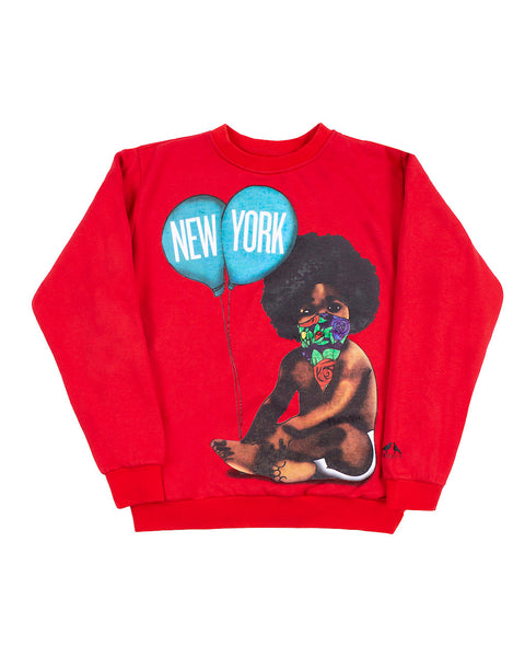 Big Baby Sweatshirt (Red)