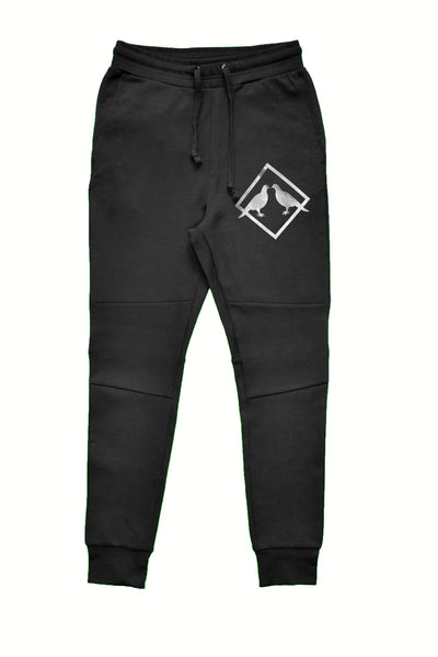 2.0 Performance Tech Fleece Sweatpants (Black/Silver)