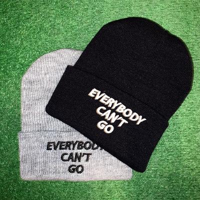 Everybody Can't Go Beanie