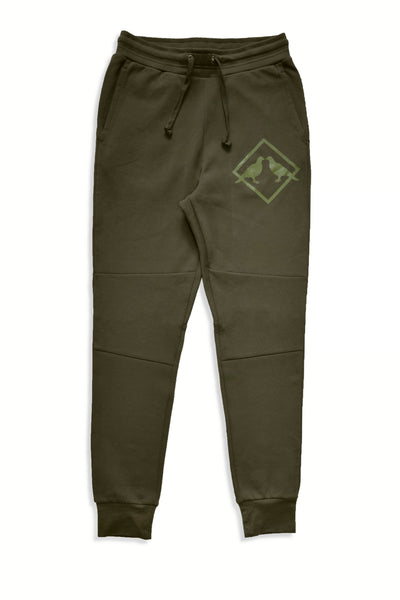2.0 Performance Tech Fleece Sweatpants (Green/Green)
