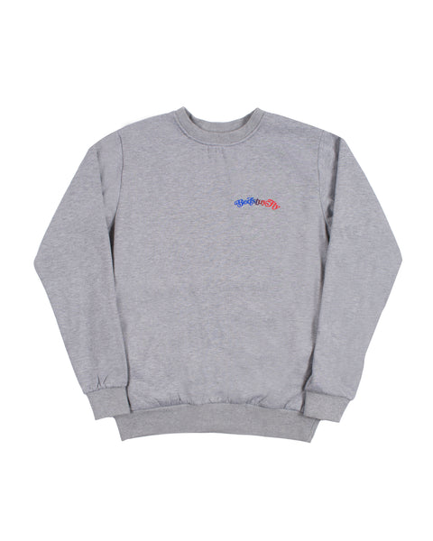 Mind Your Business Sweatshirt (Gry/Blu)