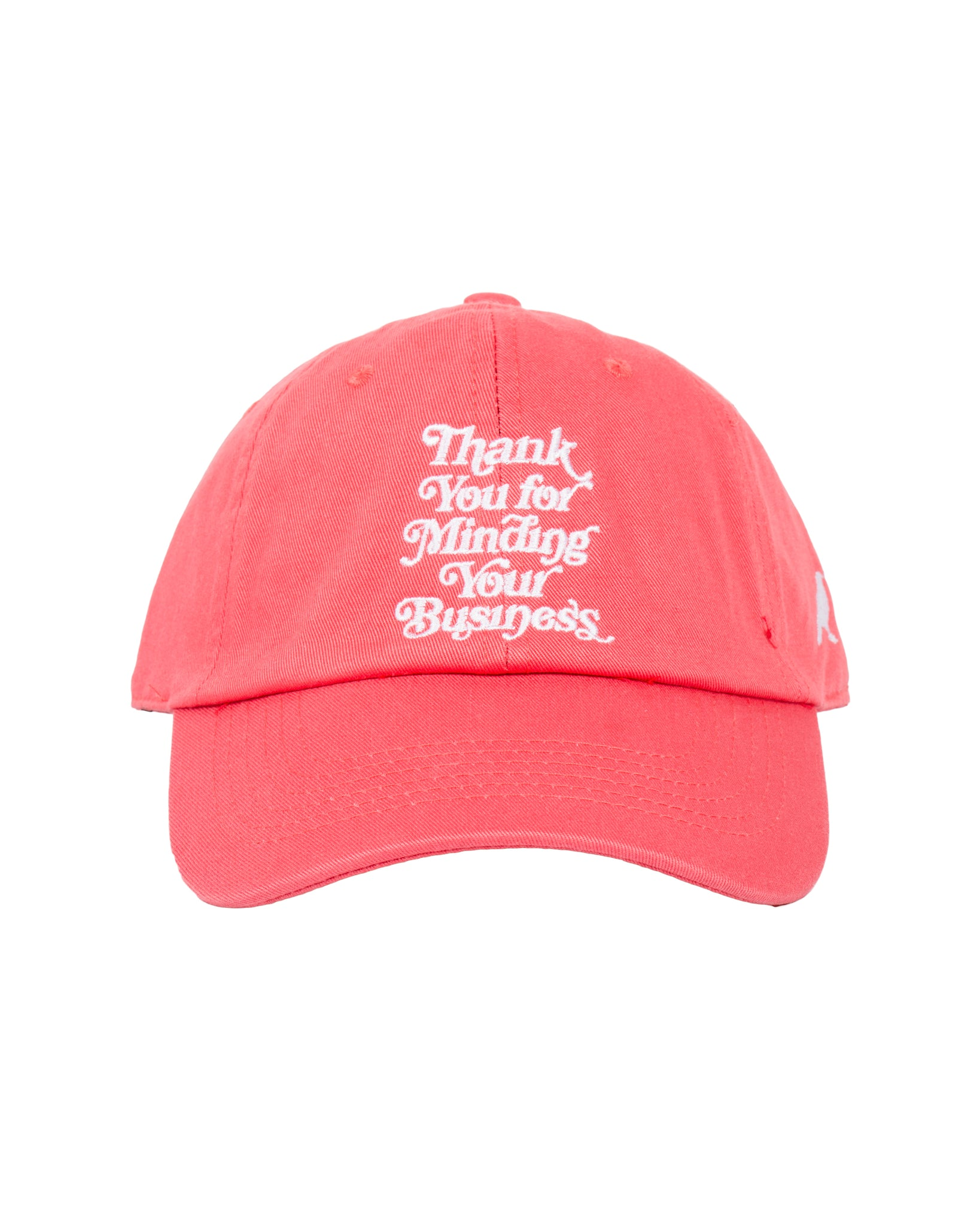 Mind Your Business Cap (Coral)