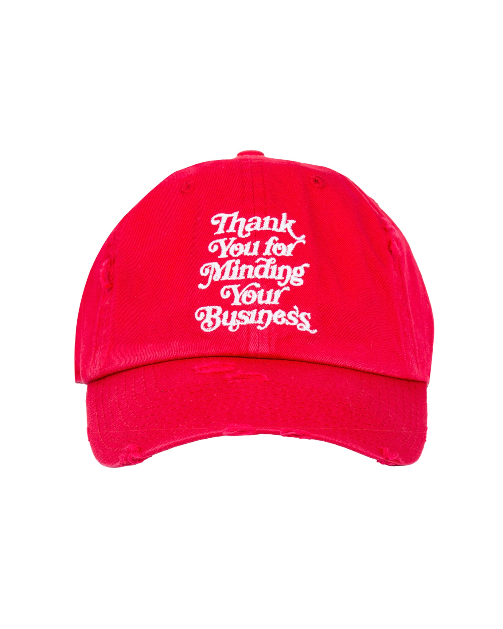 Mind Your Business Cap (Red)