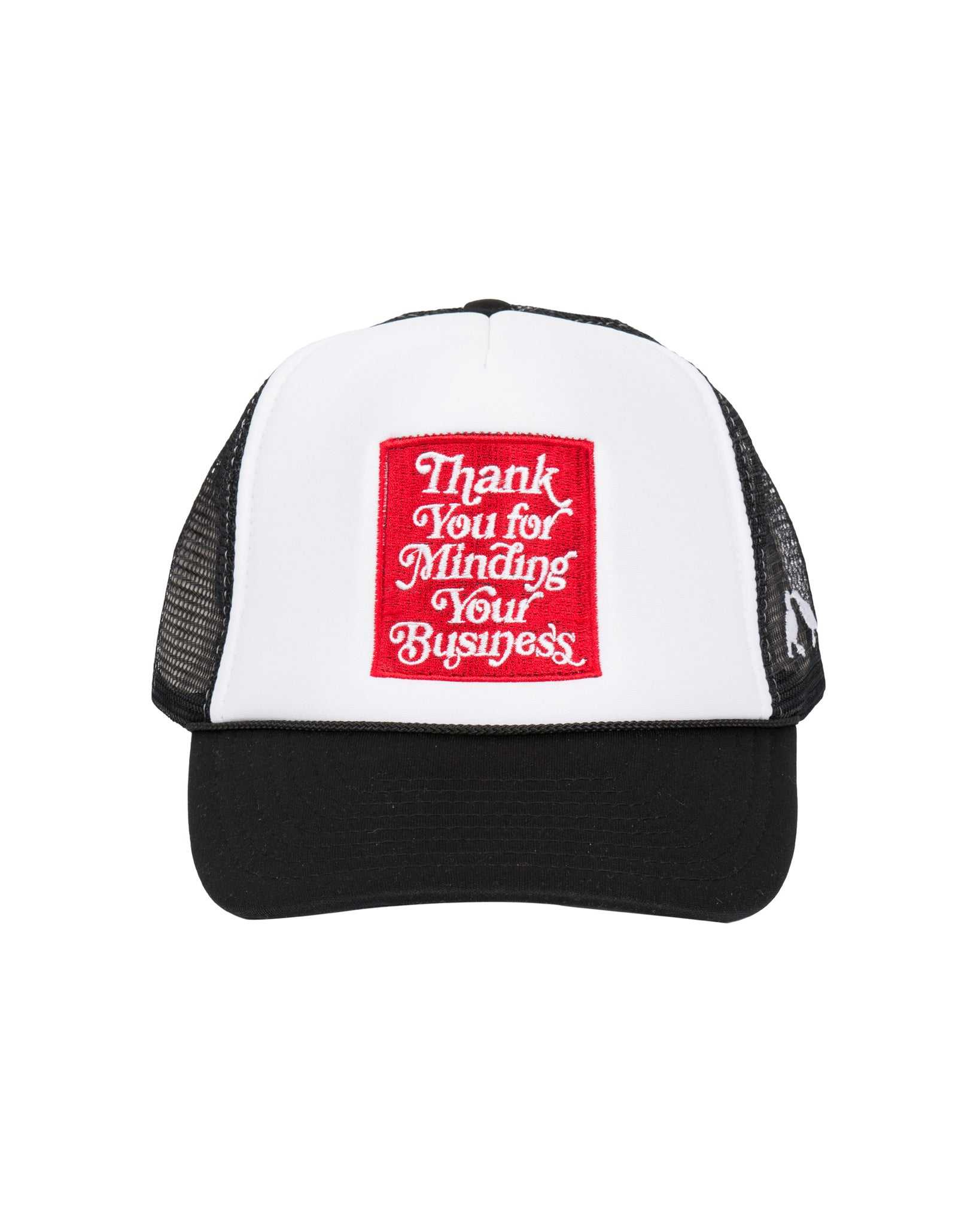 Mind Your Business Trucker Cap (Wht)