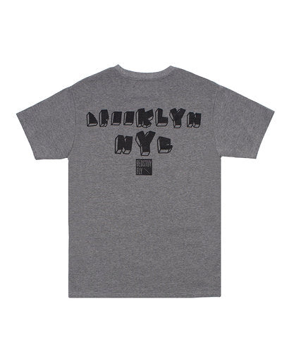 No Rules T-Shirt (Charcoal Gry)
