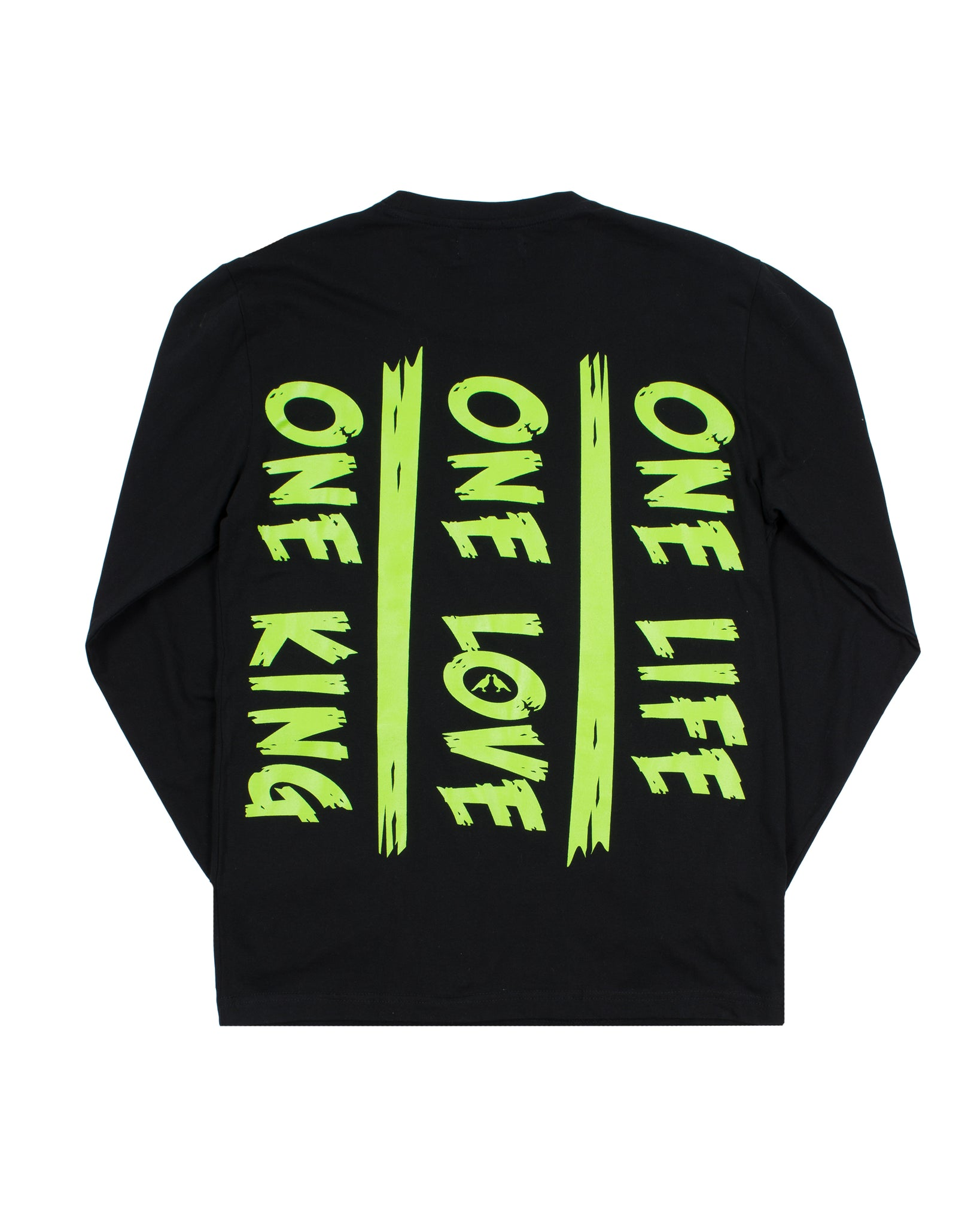One King  Long Sleeve Black/ Green