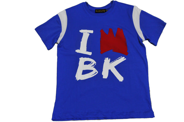 King Of BK  T-Shirt (Blu)