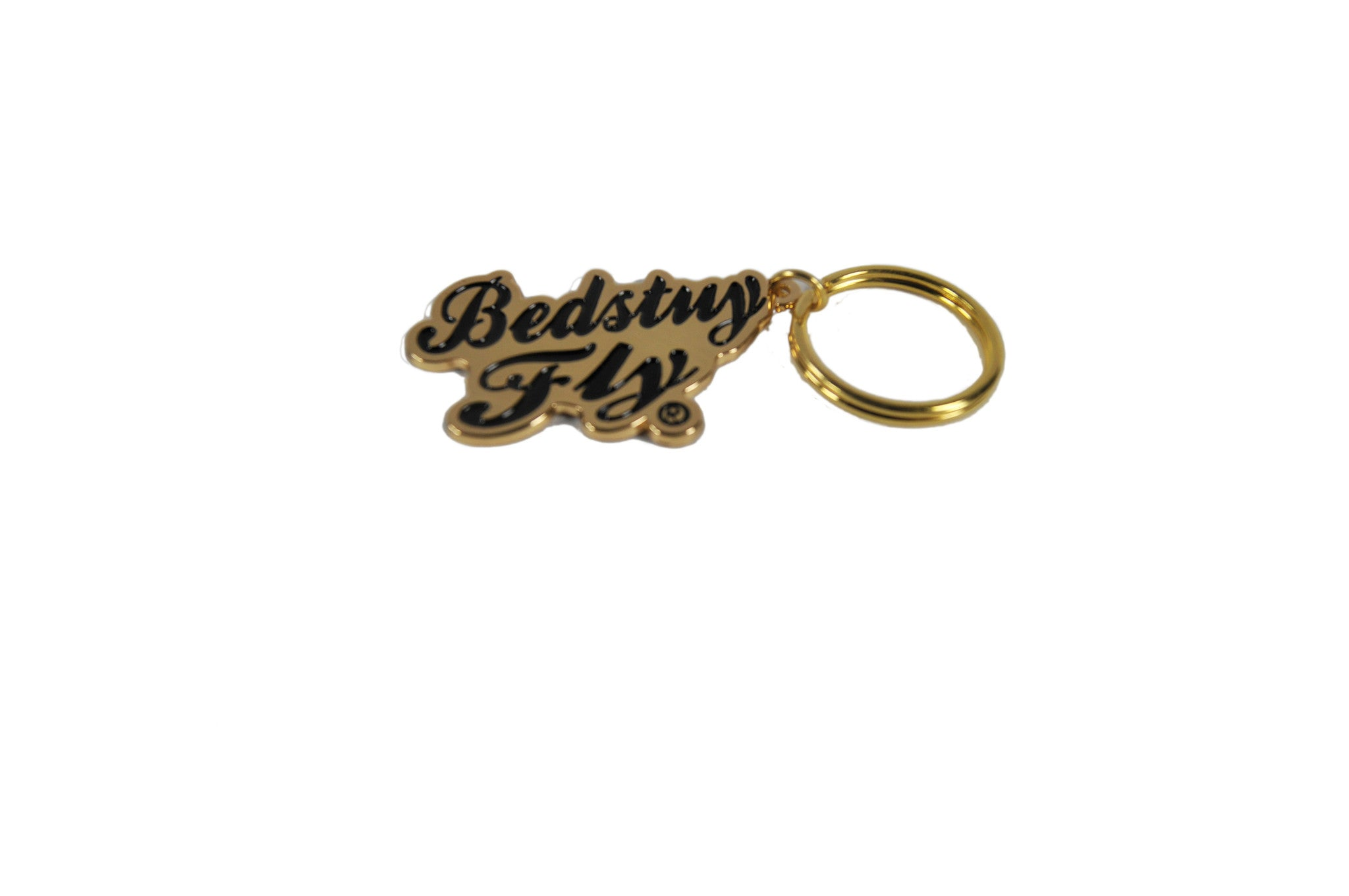 Bedstuy Fly Keychain (Gold)