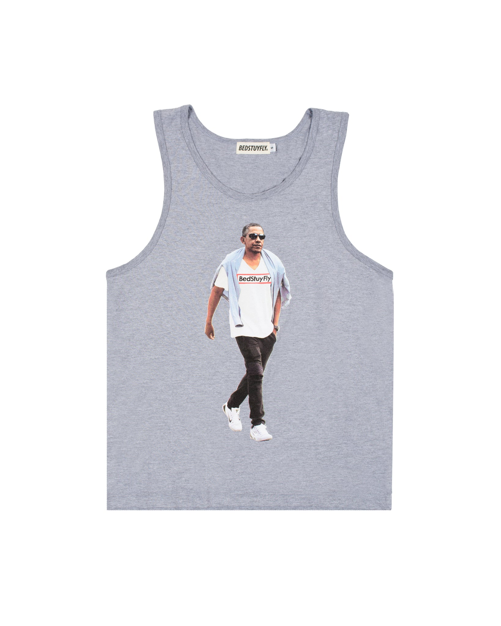 Obama Tank Top (Gry)