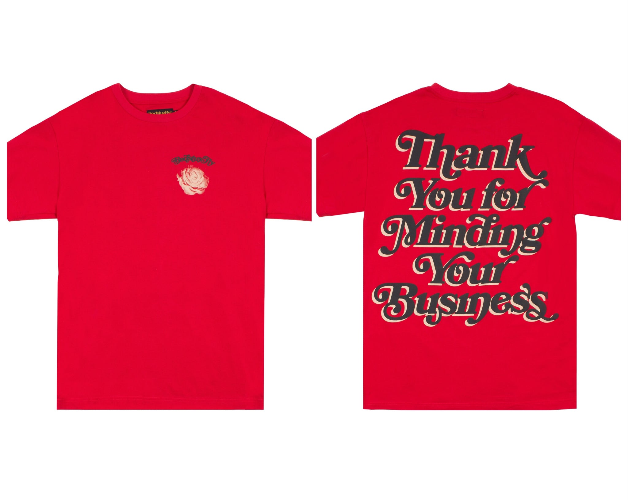 Mind Your Business (Red/Black)