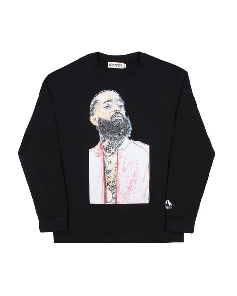 Ermias Long Sleeve Blk