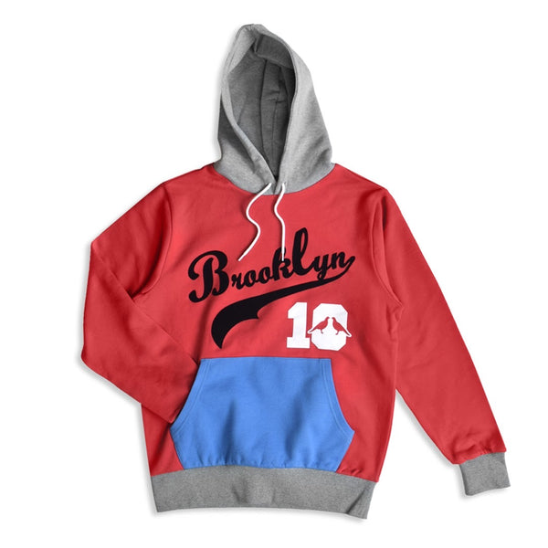 Brooklyn 10 Hoodies (Burgundy)