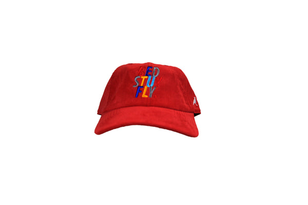 Colors Corduroy Cap  (Red)