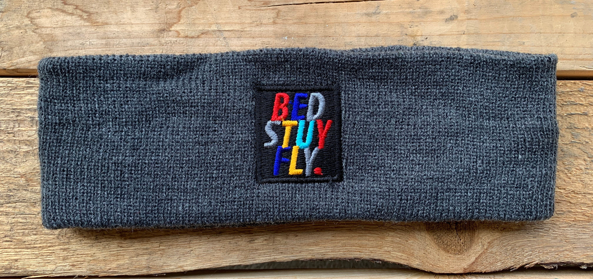 Bedstuyfly Colors Headband (Charcoal)