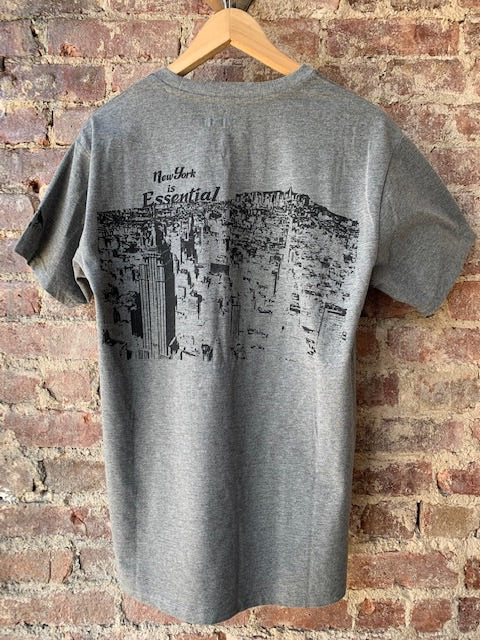 New York Is Essential (Charcoal)