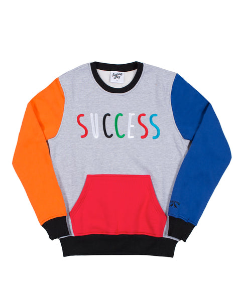 Numbers Don't Lie Sweatshirt Gry Multi