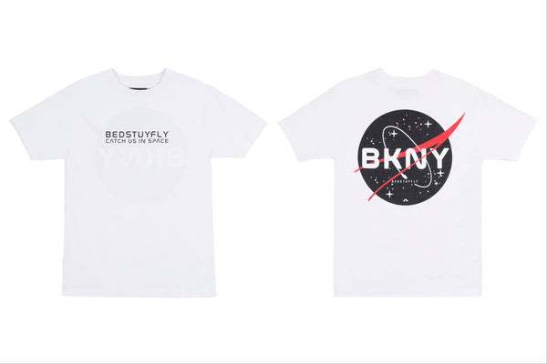 Brooklyn Space Project T-Shirt (Wht/Red)