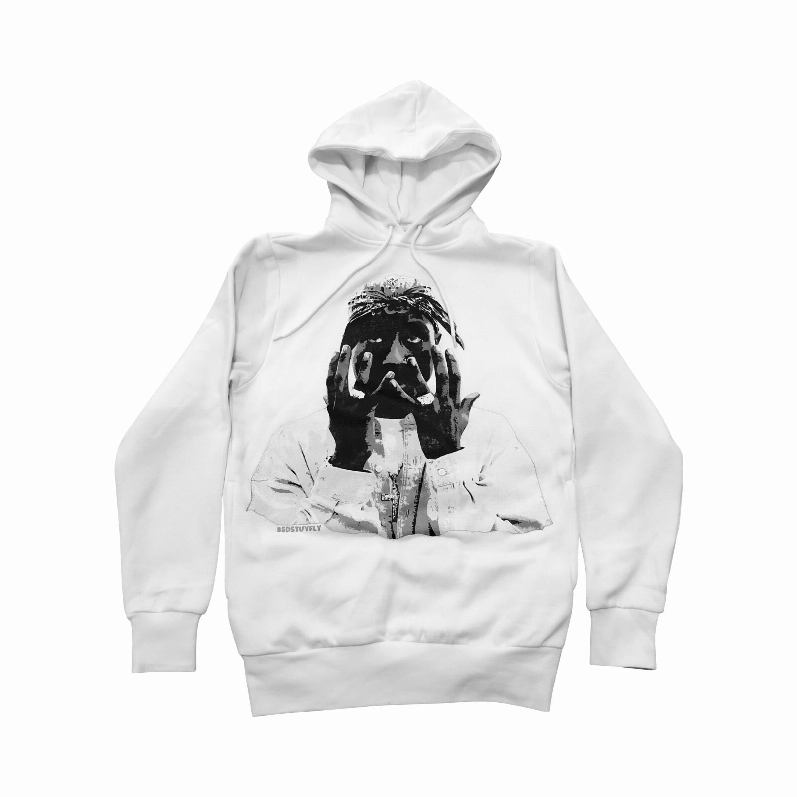 Forever Pac Hoodie (White)