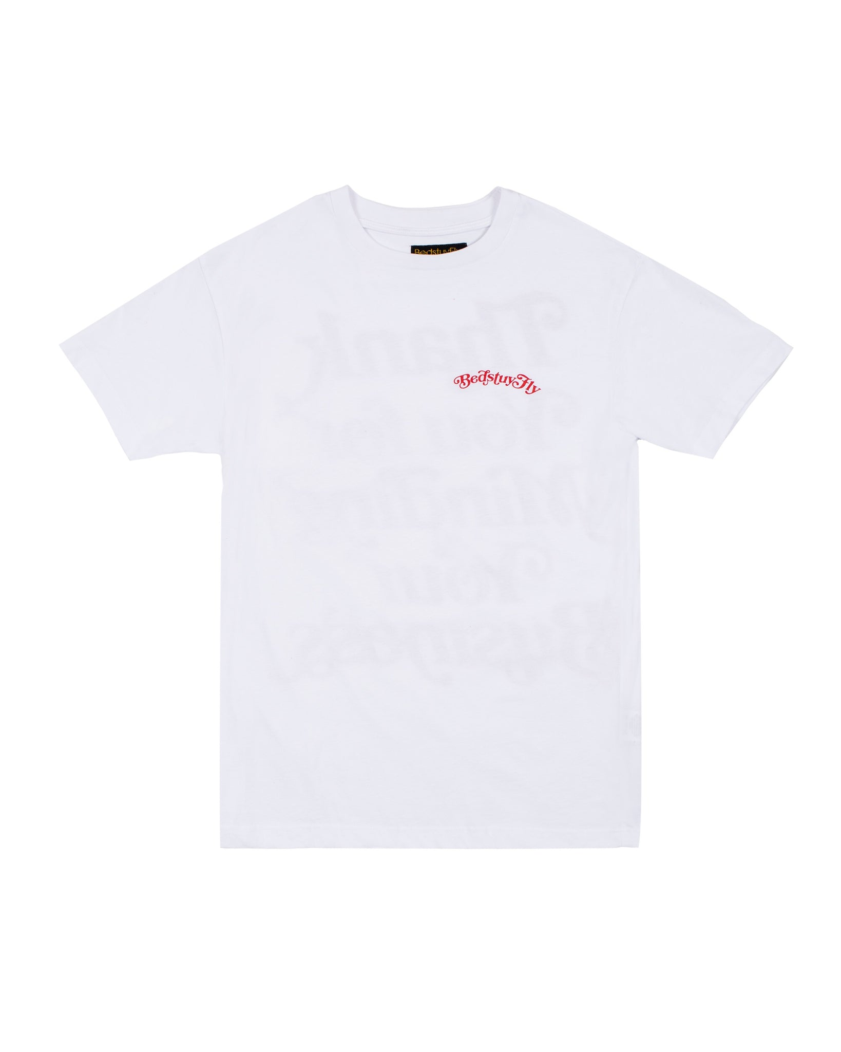 Mind Your Business (White/Red)