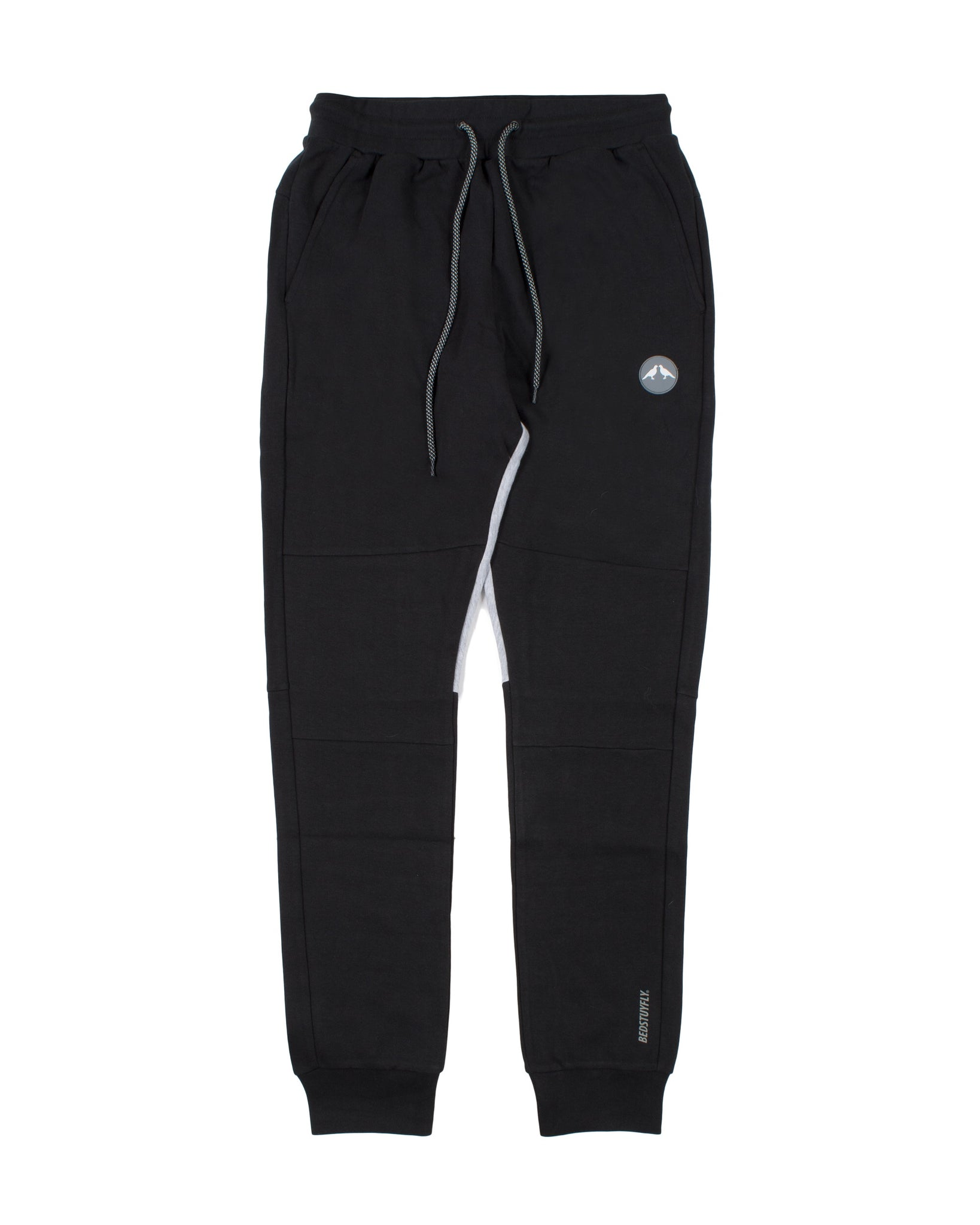 Geo Tech Sweatpants (Black)
