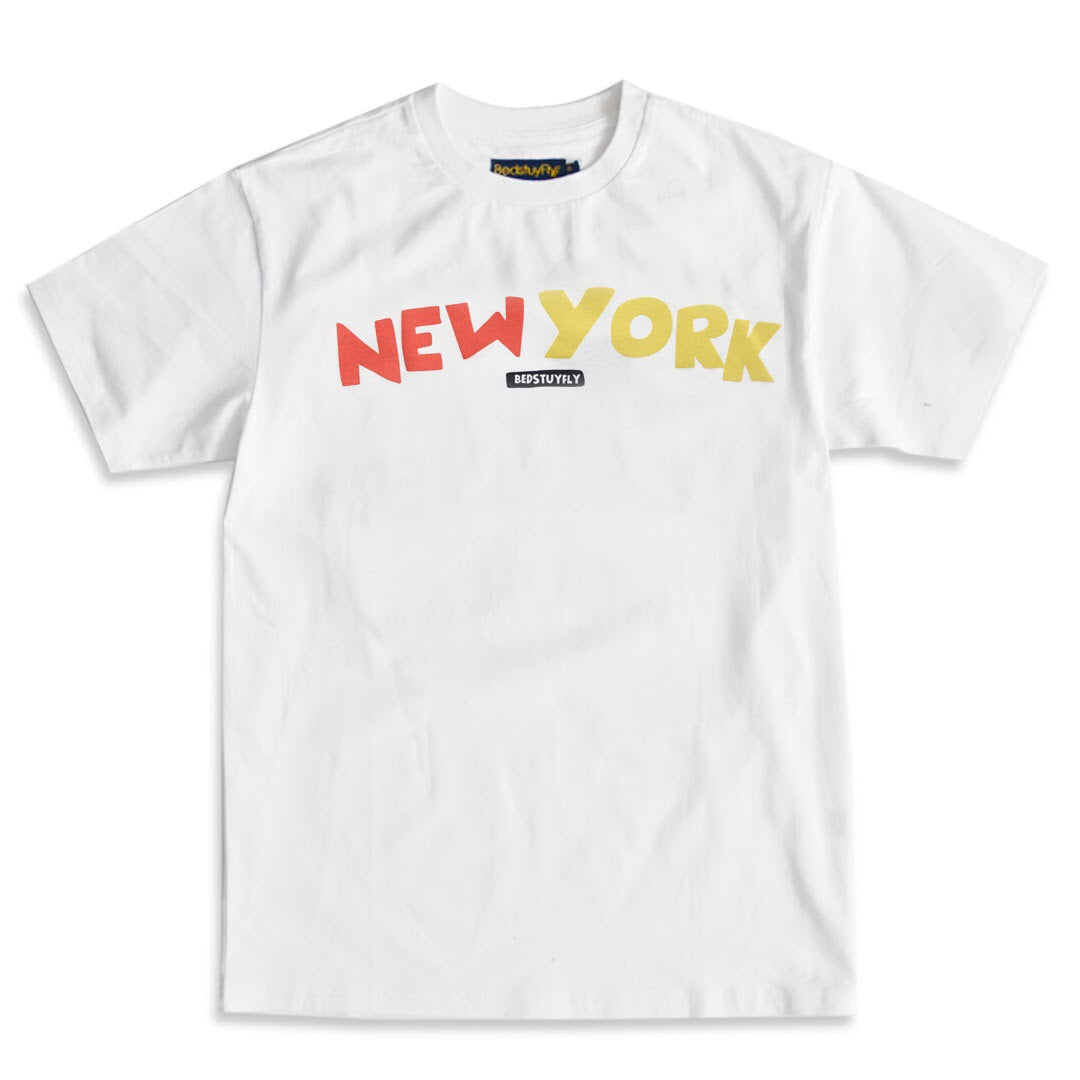 New York T-Shirt( Wht)
