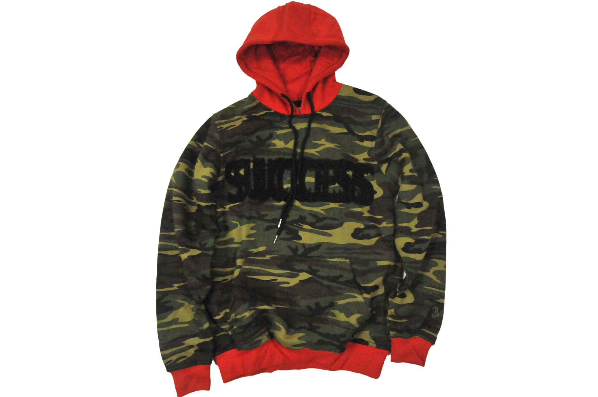 Success Stitch Hoodie (Camo)