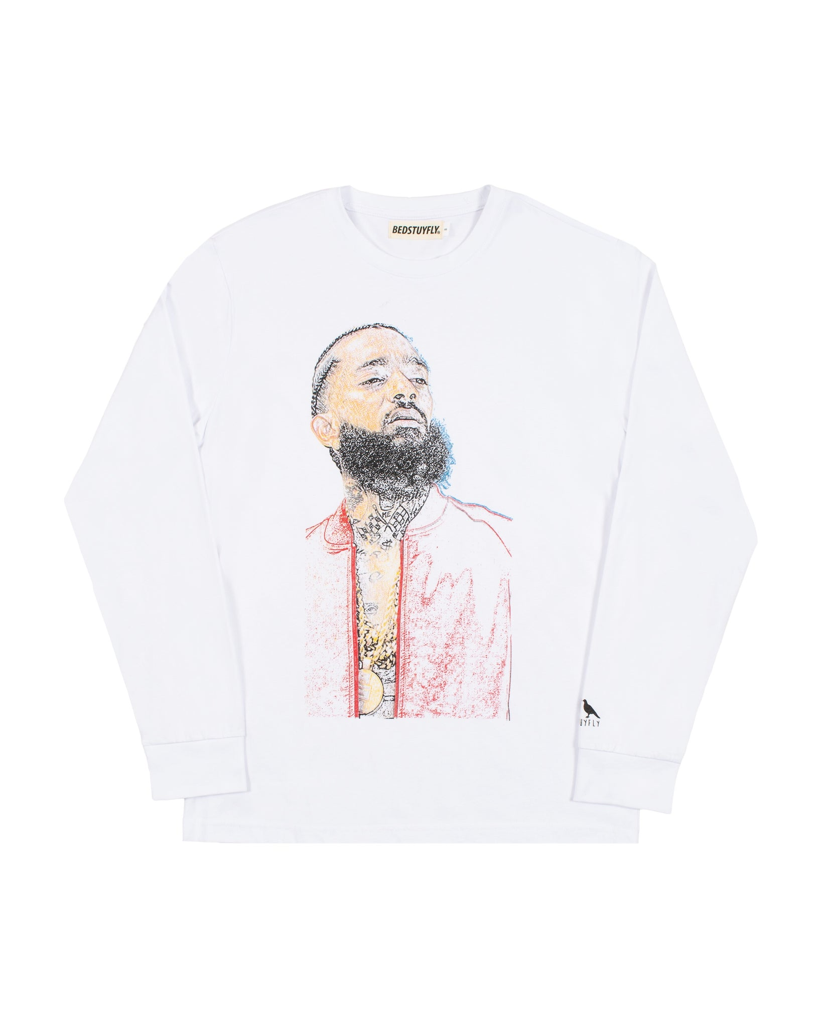 Ermias Long Sleeve Wht