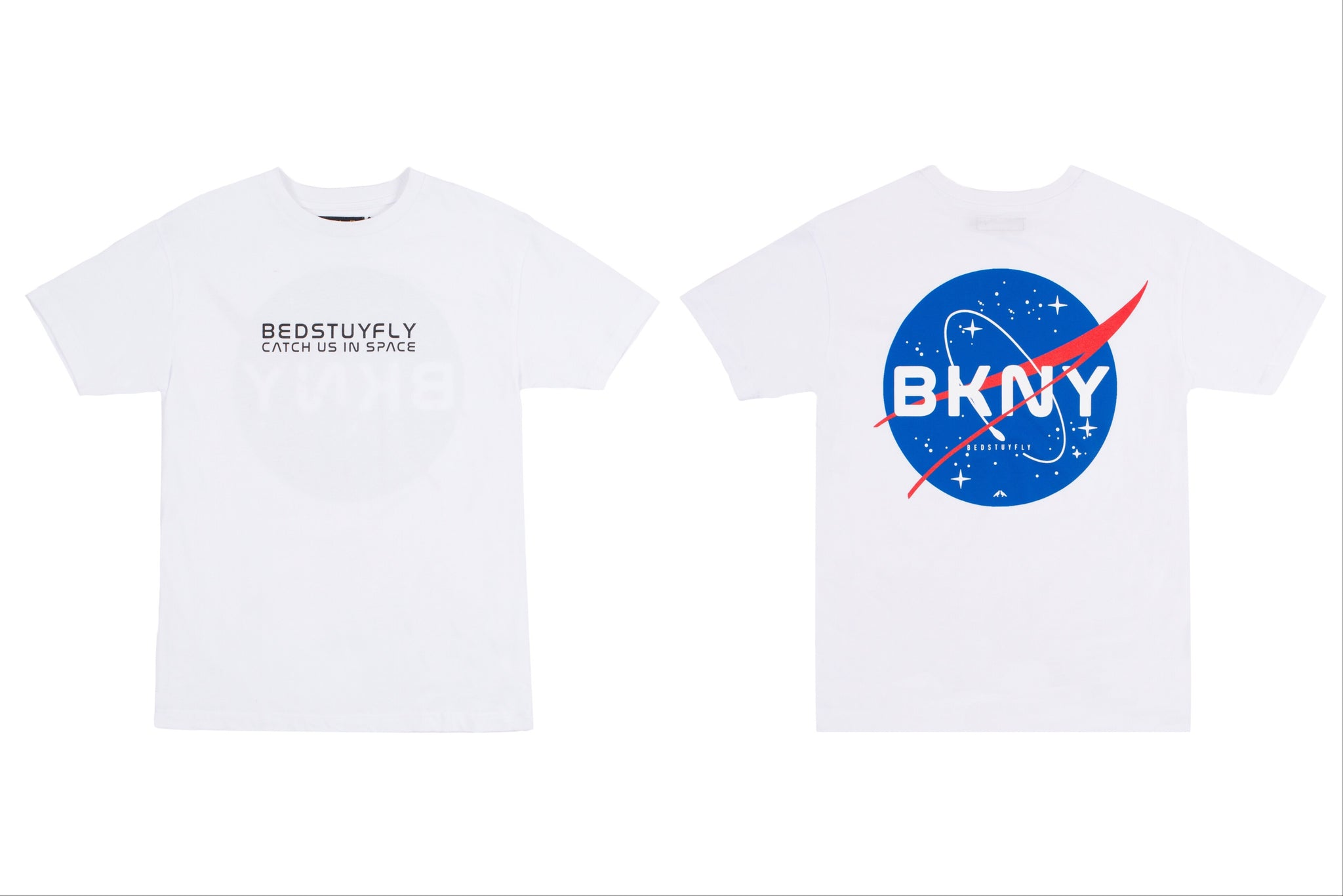 Brooklyn Space Project T-Shirt (Wht)
