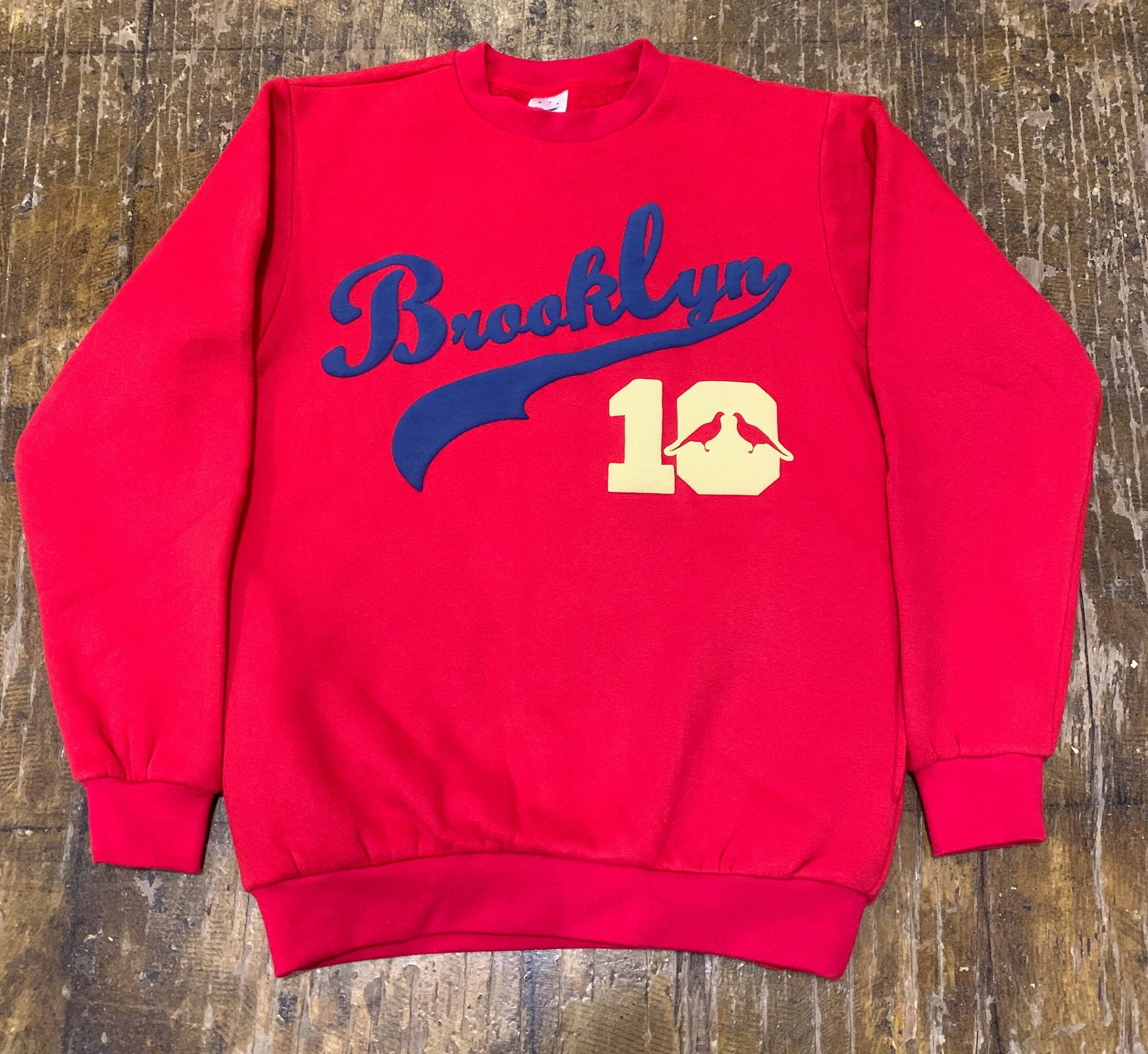 Brooklyn Sweatshirt #10 (Red)
