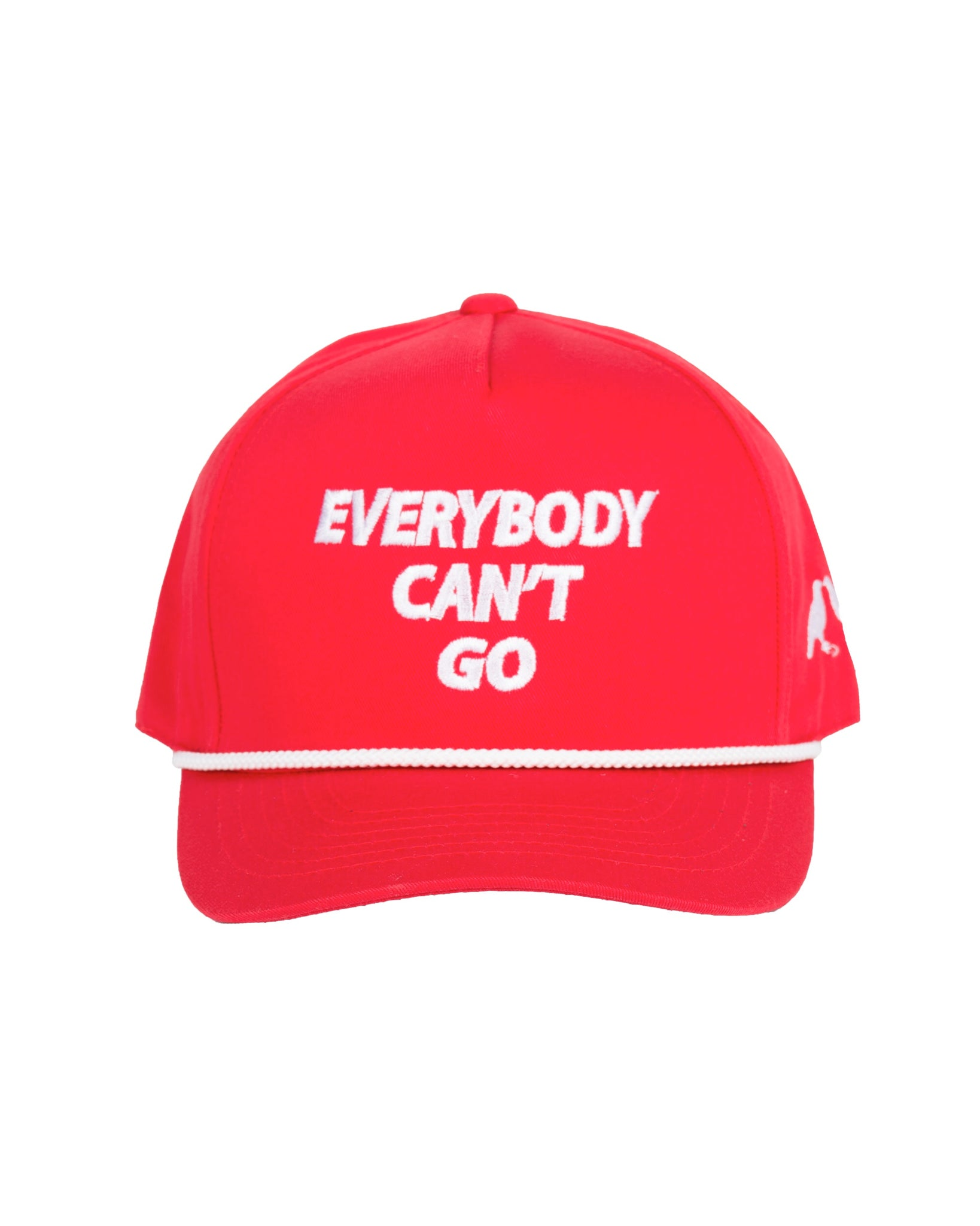 Everybody Can't Go Cap Red