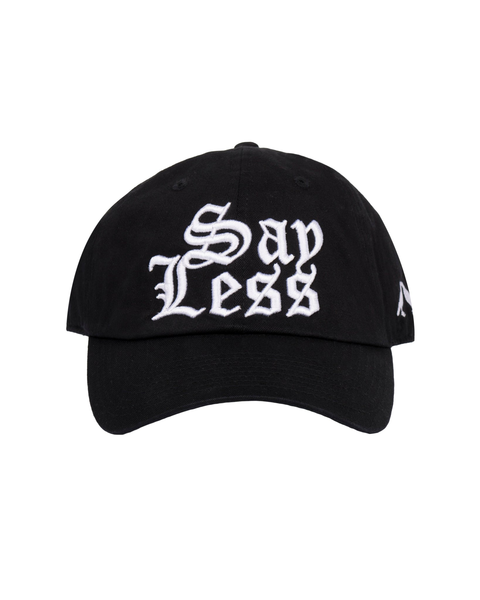 Say Less Cap (Black)
