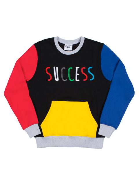 Numbers Don't Lie Sweatshirt Blk Multi