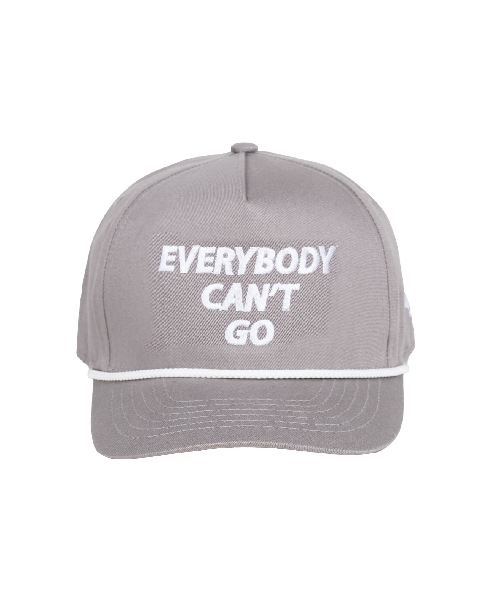 Everybody Can't Go Cap Grey
