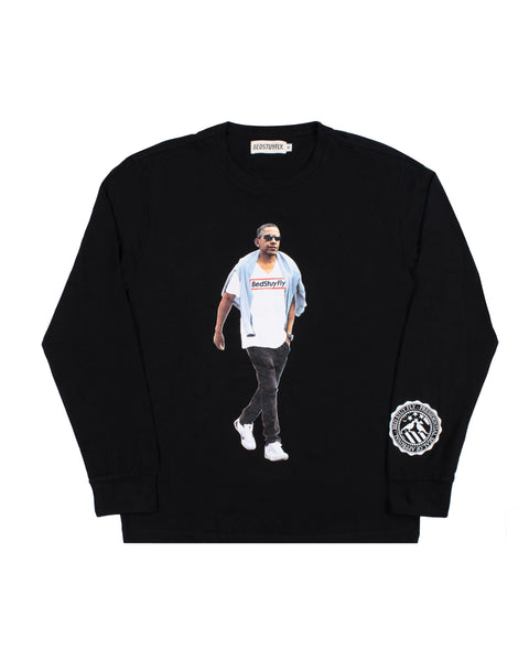 Obama Long Sleeve T-Shirt (Blk)