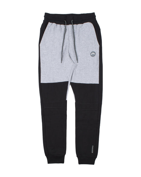 Geo Tech Sweatpants (Black/Gray)