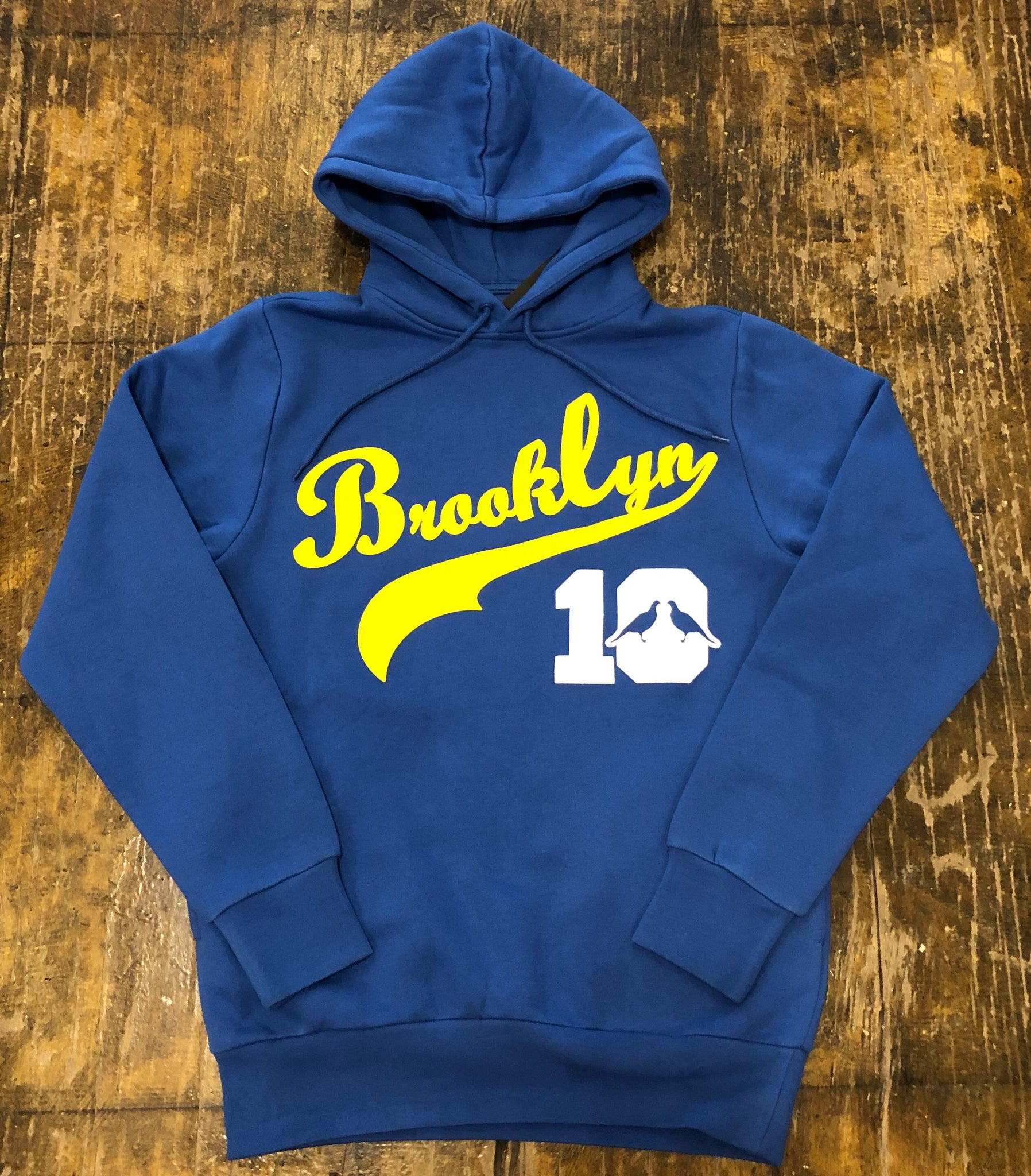 Brooklyn Hoodie #10 (Blue/Yellow)