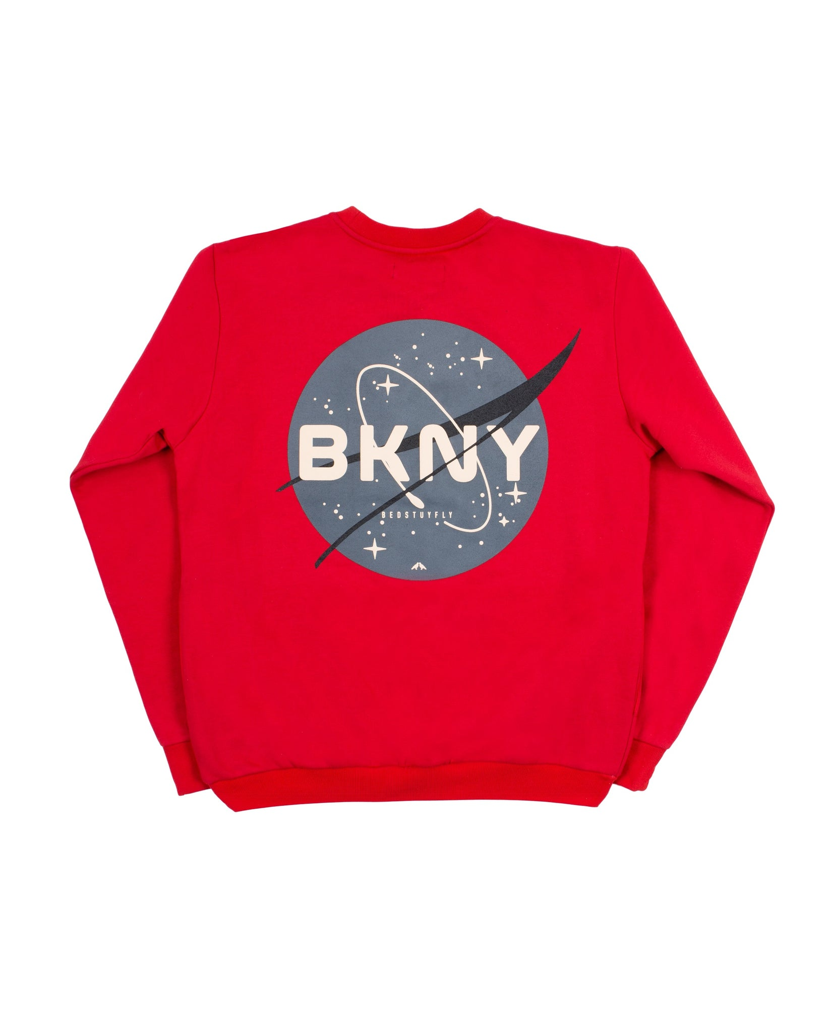 Brooklyn Space Project Sweatshirt (Red)