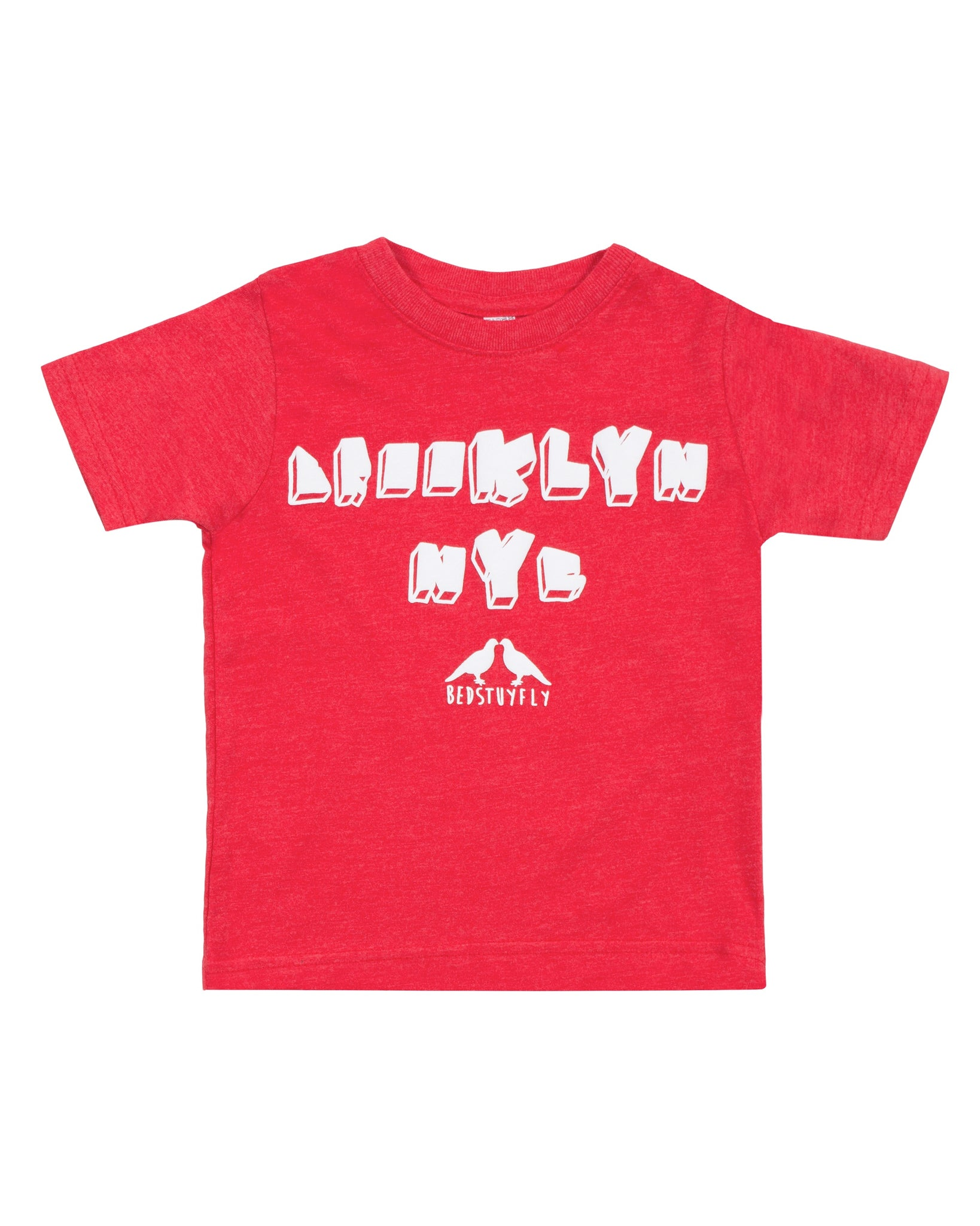 Brooklyn NY Kids T-Shirt (Red)